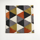 NEW Covers Cushion Vintage Flax Linen Car Pillow Square Composite Sofa Geometric
