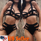 NEW Women's Sexy Lingerie Babydoll Sleepwear Underwear Lace BLACK Dress set Best