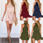 US Women Summer Casual Sleeveless Evening Party Cocktail Beach Short Mini Dress