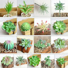 Artificial Succulent Flower Floral Mini Faux Potted Plants Foliage Garden Decor