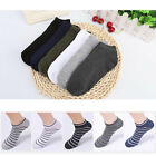 US 1Pairs Men's Invisible No Show Nonslip Loafer Boat Ankle Low Cut Cotton Socks