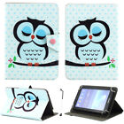 "Fashion Printed Patterned Flip PU Leather Stand Case Cover For 8"" Inch Tablet"