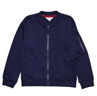 Boys Outfit Kids bomber cardigan jacket navy 5 6 7 8 9 10 11 12 years RRP £20