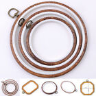 8 Size Round Cross Stitch Wood Frame Embroidery Hoop Ring Loop Sewing DIY Craft