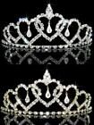 Prom Hearts Crystal Silver / Gold Plated made with Swarovski Crystal Tiara  T089