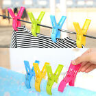 Kyпить 8Pcs Large Bright Colour Plastic Beach Towel Pegs Clips to Sunbed Tools Home UK на еВаy.соm