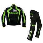 Racing Jacket Winter automobile race clothing motorcycle clothes for KAWASAKI