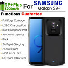5200mAh Extended Phone Battery Case Cover Charging for Samsung Galaxy S9/S9Plus