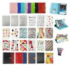 1 Universal Wallet Case Cover Folio Fits MuSheng 10.1 Inch Tablet PC