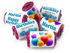 Personalised Mini Love Heart Sweets for Birthday - Boy V0