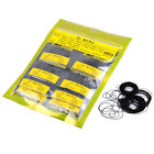 950pcs O Ring Watch Case Back Gasket All Rubber Seal Size 0.5-0.7mm Repair Set