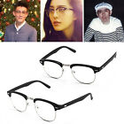 Unisex Clubmaster Glasses Novelty CLEAR LENS Mens Ladies Party Fashion Vintage