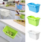 green garbage can - Plastic Kitchen Cabinet Door Hanging Trash Garbage Can Bin Rubbish Container