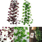 Внешний вид - 7.87FT Ivy Leaf Garland Green Plant Plastic Vine Foliage Home Garden Decoration