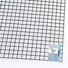 """1.8M x 0.6M Green PVC Coated Wire Mesh Panels Sheet 1"""" Square Holes Fence Pet"""