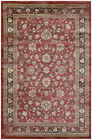 Charlton Home Connors Farahan Amulet Red /Black Area Rug