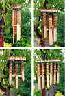 Wind Chimes - Outdoor / Indoor Large Bamboo Wind Chimes for Garden - 4x Designs