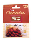 gift card factory - $25 The Cheesecake Factory Gift Card
