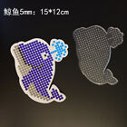 whale template - 5mm HAMA/PERLER BEADS kids funny cartoon general template details 50color pick