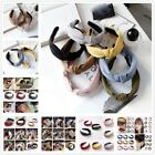 Knot Bow Wide Cloth Hair Band Women Broadside Sweet Headdress Head Hoop Headband