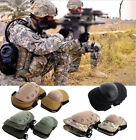 Adjustable Airsoft Tactical Combat Protective QD Knee & Elbow Pad Protector Gear