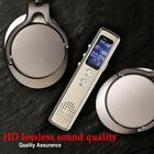 8G Digital Audio Voice Activated Recorder Dictaphone Rechargeable Backlight DC