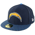 "New Era 5950 Los Angeles Chargers Onfield 2017 ""Sideline"" Fitted Hat (Navy) Cap $19.99 USD on eBay"