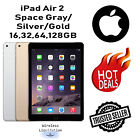 Apple iPad Air 2nd Gen SpaceGray Silver Gold 16GB 32GB 64GB 128GB WiF Tablet