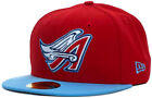 Los Angeles LA Angels Anaheim New Era 97 A Wing Cooperstown 5950 Fitted Cap Hat on Ebay