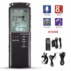 8/16/32GB Voice Activated Spy Digital Sound Audio Recorder Dictaphone MP3 Player