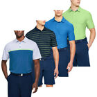 Under Armour Mens Crestable Playoff Performance Golf Polo Shirt 50% OFF RRP