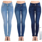Wax Jean Women's Push-Up 3 Button Skinny True Stretch Jean BUTT I LOVE!