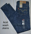 Beautiful Levi's 710 Super Skinny Stretch Size 12, 14, 16 Girls Free US Shipping
