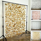 """72"""" x 72"""" Flowers BACKDROP Curtain Wedding Party Photo Booth Home Decorations"""