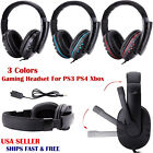 ps3 headset mic - Gaming Headset Mic Stereo Surround Headphone 3.5mm Wired For PS3 PS4 Xbox Laptop