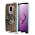 "For Samsung Galaxy S9 Plus 6.2"" Kitten Design Rugged Hybrid Silicone Case Cover"