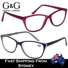 G&G Ladies Womens Fashion Stylish Plastic Reading Glasses  +1.0~+3.5
