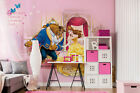 wallpapers beautiful girls - Childrens Room Wall mural photo wallpaper Disney Pink room Beauty and the Beast