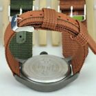 USA Military Army Watchband Bracelet Nylon Canvas Watch Band Strap Belt 18-24mm image