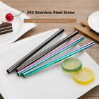 12mm Stainless Steel Straw Reusable Cocktail Drinking Straws 22CM Length