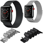 Milanese Magnetic Loop Stainless Steel Wrist Watch Band Strap For Apple Watch US image