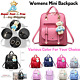 Small Cute Backpack Purse For Women Girls Mini Travel Daypack Casual School Bag photo