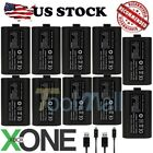 (10 Stall) For XBox One Charge and Play Kit Rechargeable Battery & Charging Cable