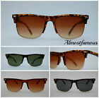 New club - master retro 80s vintage sunglasses tortoise superb quality #Hipster