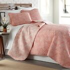 Lightweight Reversible Perfect Paisley Lightweight 3-Piece Quilt Set image