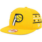 Indiana Pacers New Era Fine Side Stars Lines HWC 9FIFTY Snapback Cap Hat-Gold on eBay