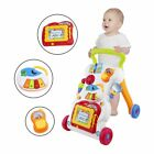 Baby Walker Multifunctional Toddler Sit-to-Stand Walker with Adjustable Screw