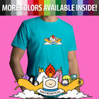 Adventure Time Cartoon Mathematical Finn Jake Unisex Mens Tee Crew Neck T-Shirt