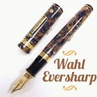 Wahl Eversharp The Magnificent Seven Oversize Celluloid Amber Fountain Pen