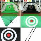 1pk Green Black Golf Training Net Golf Hitting Cage Outdoor Practice Supplies